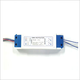 SR02, LED, DMX, REPEATER, RS485